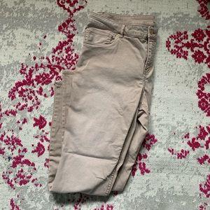 H&M Dusty Rose Skinny Jeans sz 20